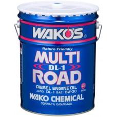 Дизельное масло MR-DL1 Wakos 5W-30 для легковых автомобилей с DPF сажевым фильтром твёрдых частиц