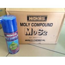 Молибденовая смазка на основе дисульфид молибдена MC Wakos
