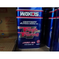 Японское синтетическое безполимерное моторное масло 20W-40 25W-50 TT - Tough Touring Wako's