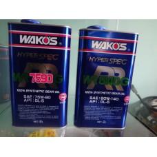 Трансмиссионное масло для спортивных и тюнингованных автомобилей WR G - Double R-G - LSD