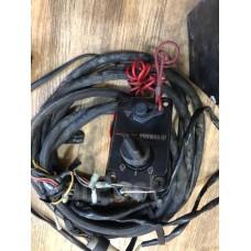 Машинка газ-реверс Yamaha 704 с косой для лодочного мотора